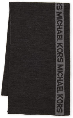 MICHAEL Michael Kors Side Stripe Scarf