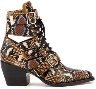 Chloé Rylee ankle boots