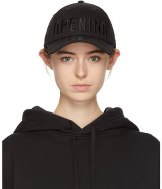 Opening Ceremony Black New Era Edition Satin Stitch Logo Cap