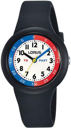 Lorus RRX91EX-9 Youth 100M Black Time-Teacher Watch