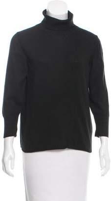 Calvin Klein Collection Long Sleeve Knit Turtleneck