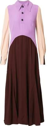 Marni colour block dress