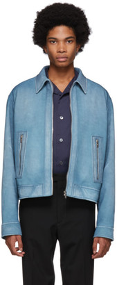 Prada Blue Suede Jacket