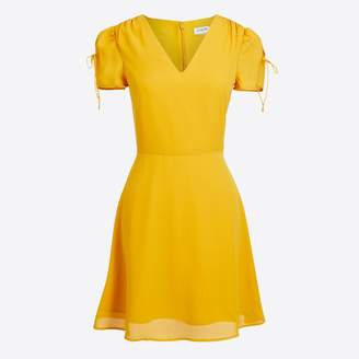 J.Crew Factory Short-sleeve tie-shoulder dress