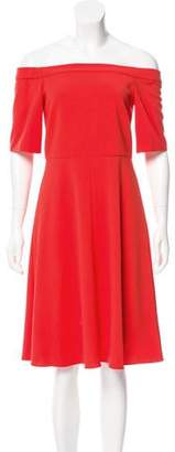 Tibi Off-The-Shoulder Mini Dress w/ Tags