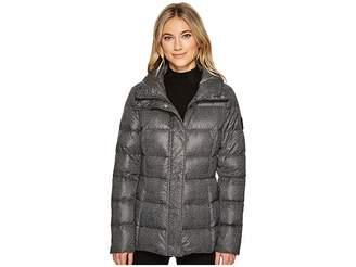 Lauren Ralph Lauren Printed Stand Collar Packable Women's Coat