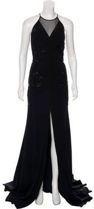 Bibhu Mohapatra Sequined Evening Gown