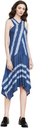BCBGMAXAZRIA Ada Shibori-Print Dress