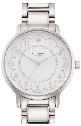 Women's Kate Spade New York 'Gramercy' Scalloped Dial Bracelet Watch, 34Mm $195 thestylecure.com