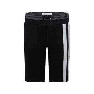 John Galliano John GallianoBoys Black & Grey Stripe Shorts