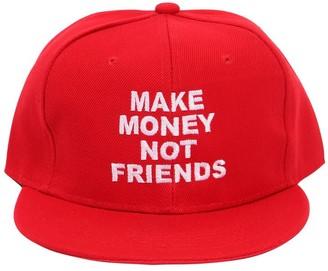 Make Money Not Friends Logo Embroidered Baseball Hat 32082b7479ec