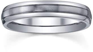 MODERN BRIDE Womens 4mm Titanium Wedding Band