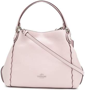 Coach scalloped logo tote