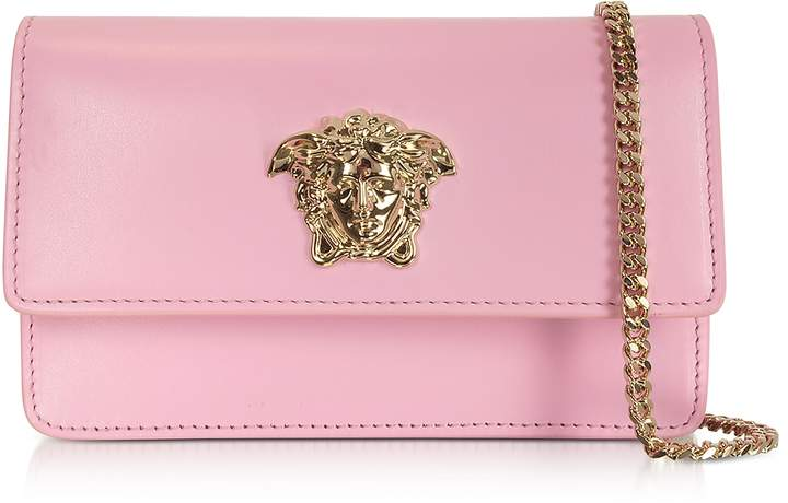 Versace Palazzo Pink Leather Small Pouch
