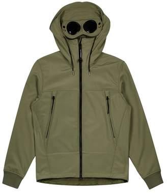 C.P. Company Army Green Goggle Shell Jacket