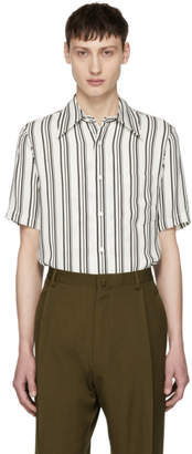 Ports 1961 White and Black Striped Shirt