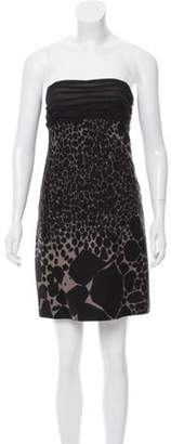 Giambattista Valli Strapless Mini Dress Black Strapless Mini Dress