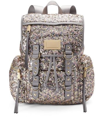 Juicy Couture Blush Sequin Backpack $99 thestylecure.com