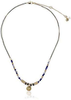 Kenneth Cole New York Delicates Mixed Bead Circle Pendant Necklace