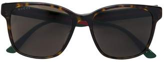 Gucci squared sunglasses