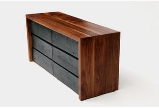 Artless SQR 6 Drawer Double Double Dresser