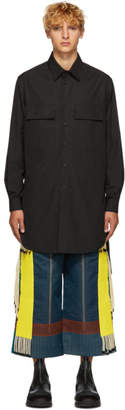 Craig Green Black Long Poplin Shirt