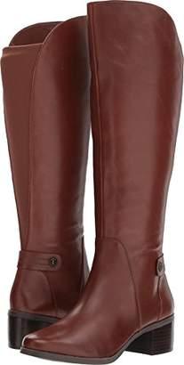 Anne Klein Women's Jelaw Leather Fashion Boot