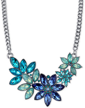 2028 Silver-Tone Floral Crystal Necklace, a Macy's Exclusive Style $42 thestylecure.com