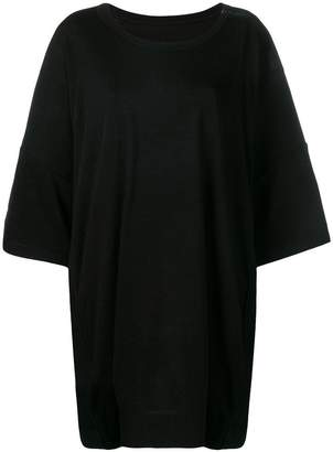 Yohji Yamamoto oversized crewneck T-shirt