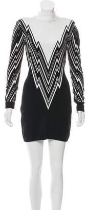 Balmain Structured Mini Dress