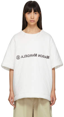 MM6 MAISON MARGIELA White Padded T-Shirt