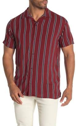 Jack and Jones Charlie Short Sleeve Stripe Print Shirt