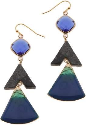 Nakamol Design Triangle Drop Earrings