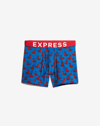 Express Rooster Print Boxer Briefs