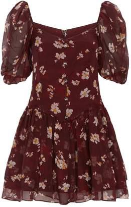 Caroline Constas Floral Quinn Dress