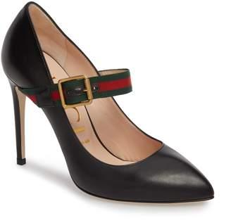 Gucci Sylvie Mary Jane Pump