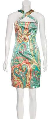 Dolce & Gabbana Vintage Paisley Knee-Length Dress