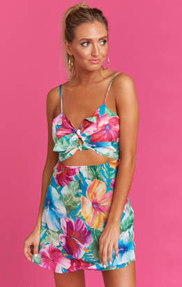 Show Me Your Mumu Layla Tie Dress ~ Malibu Barbie