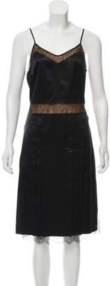 Michael Kors Silk Midi Dress
