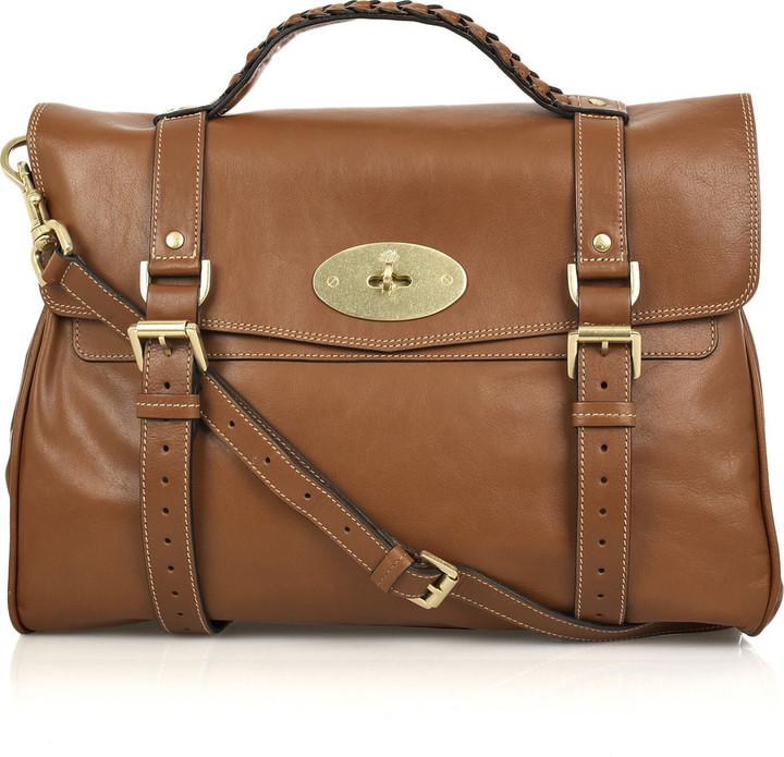 Mulberry Oversized Alexa leather bag
