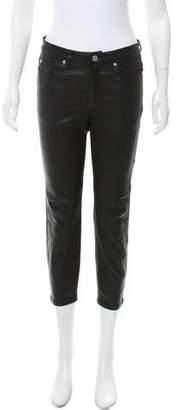 IRO Gaspard Mid-Rise Leather Pants