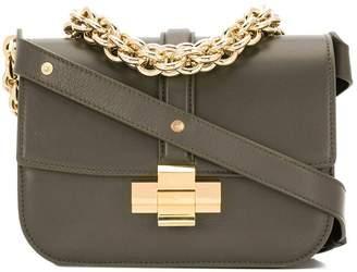 No.21 chain detail shoulder bag