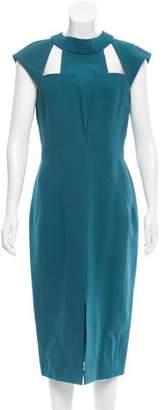 J. Mendel Silk Midi Dress w/ Tags