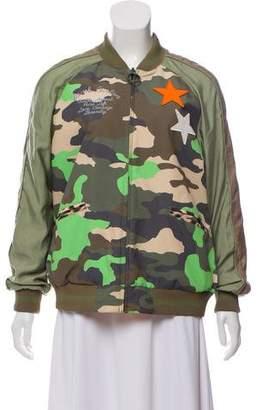 Burton Reversible Bomber Jacket