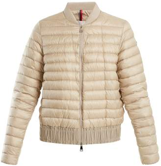 Moncler Barytine quilted down bomber jacket