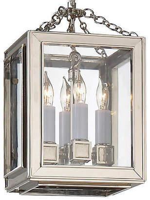 Visual Comfort & Co. Lund Lantern - Nickel/Clear