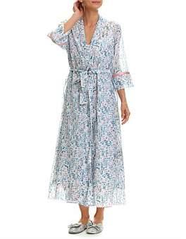 Papinelle Ellie Floral Print Maxi Robe