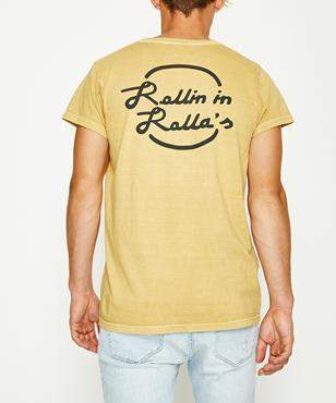 Rollas Rollin' In Rollas Short Sleeve T-shirt Old Gold Old Gold