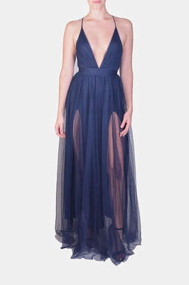 Luxxel Enchantress Gown Navy