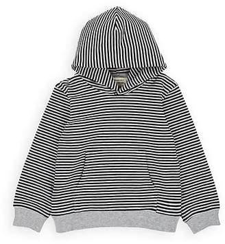 Little Indians Infants' Striped Organic Cotton-Blend Hoodie